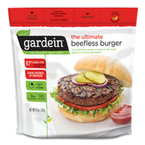 Gardein Ultimate Beefless Burger 340g - Vegan Pantry Brisbane