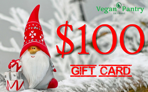 Xmas Gift Card $100 - Vegan Pantry Brisbane