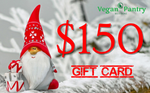 Xmas Gift Card $150 - Vegan Pantry Brisbane