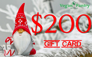 Xmas Gift Card $200 - Vegan Pantry Brisbane