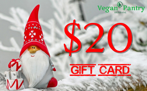 Xmas Gift Card $20 - Vegan Pantry Brisbane