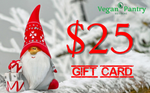 Xmas Gift Card $25 - Vegan Pantry Brisbane