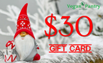 Xmas Gift Card $30 - Vegan Pantry Brisbane