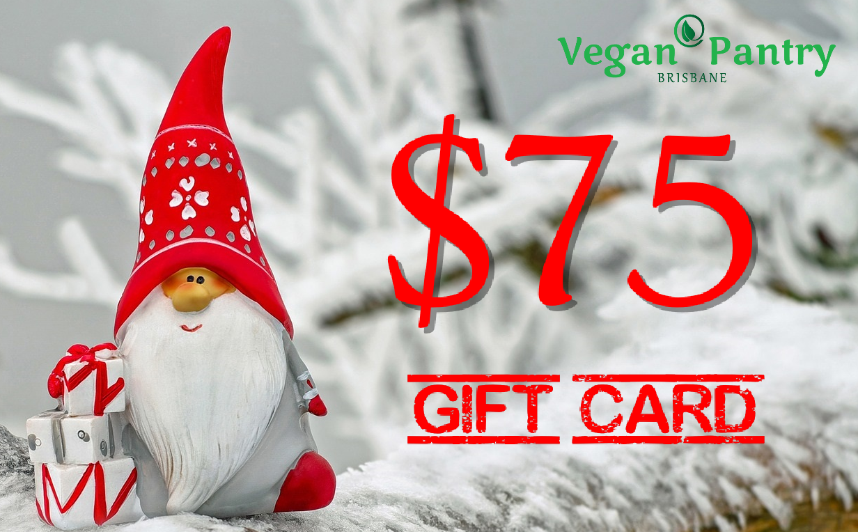 Xmas Gift Card $75 - Vegan Pantry Brisbane