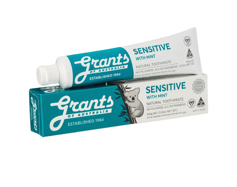 Grants Sensitive with Mint 100g - Vegan Pantry Brisbane