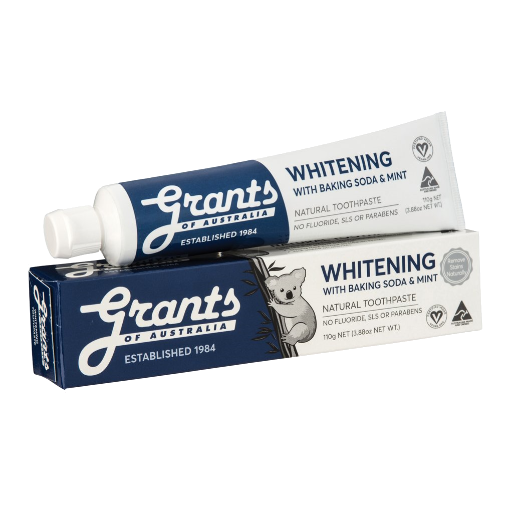 Grants Whitening with Baking Soda and Mint 110g - Vegan Pantry Brisbane