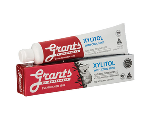 Grants Xylitol Cool Mint Toothpaste 110g - Vegan Pantry Brisbane