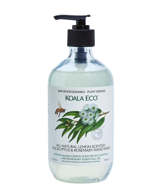 Koala Eco Hand Wash Lemon Scented Eucalyptus & Rose 500ml - Vegan Pantry Brisbane