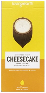 Loving Earth Lemon Caramel Cheesecake Chocolate GF 80g - Vegan Pantry Brisbane