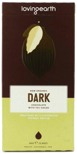 Loving Earth Raw Organic Dark Chocolate GF 80g - Vegan Pantry Brisbane