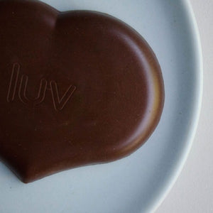 Loving Earth Raw Organic Hazelnut Mylk Chocolate GF 80g - Vegan Pantry Brisbane