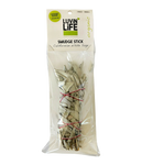 Luvin Life Smudge Stick White Sage Organic Small 16cm - Vegan Pantry Brisbane