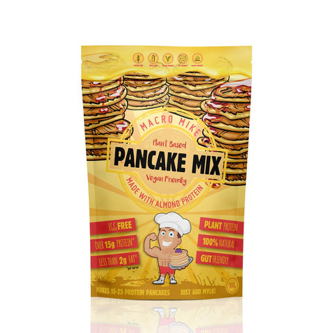 Macro Mike Almond Protein Pancake Baking Mix GF 300g - Vegan Pantry Brisbane