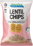 Nature First Lentil Chips with Pink Himalayan Salt GF 100g - Vegan Pantry Brisbane