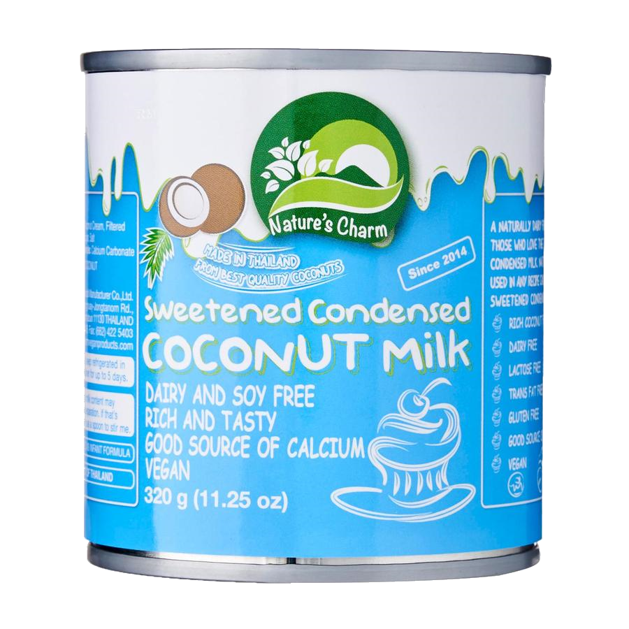 Nature's Charm Sweetened Condensed Coconut Milk GF 320g - Vegan Pantry Brisbane