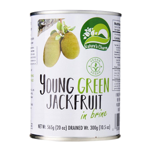 Nature's Charm Young Green Jackfruit GF 565g - Vegan Pantry Brisbane