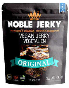 Noble Jerky Vegan Jerky Original 70g - Vegan Pantry Brisbane