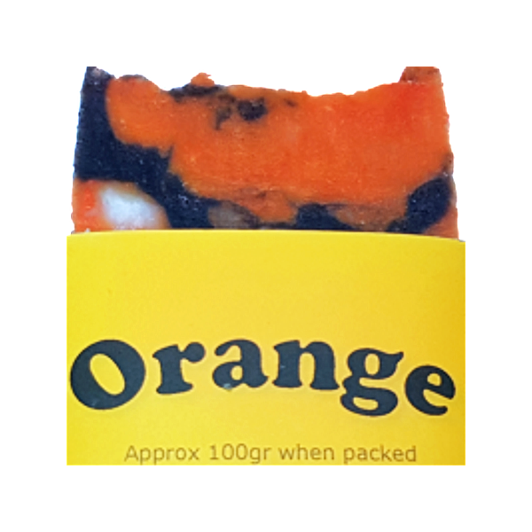 Lil's Handmade Soaps - Orange 100g - Vegan Pantry Brisbane