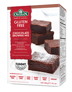 Orgran Chocolate Brownie Mix GF 400g - Vegan Pantry Brisbane