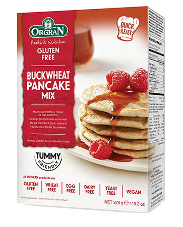 Orgran Buckwheat Pancake Mix GF 375g - Vegan Pantry Brisbane
