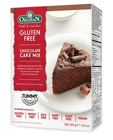 Orgran Chocolate Cake Mix GF 375g - Vegan Pantry Brisbane