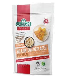 Orgran No Egg Egg Replacer GF 200g - Vegan Pantry Brisbane