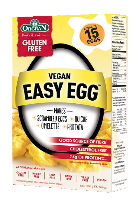 Orgran Vegan Easy Egg GF 250g - Vegan Pantry Brisbane