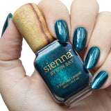 Sienna Byron Bay Gypsy - Deep Dark Blue with an Aqua Shimmer 10ml - Vegan Pantry Brisbane