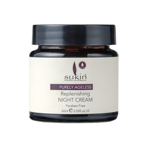 Sukin Ageless Replenishing Night Cream 60ml - Vegan Pantry Brisbane