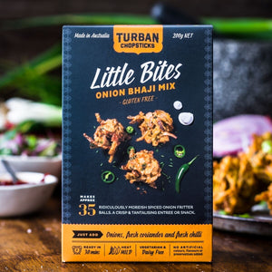 Turban Chopsticks Onion Bhaji Mix GF 200g - Vegan Pantry Brisbane