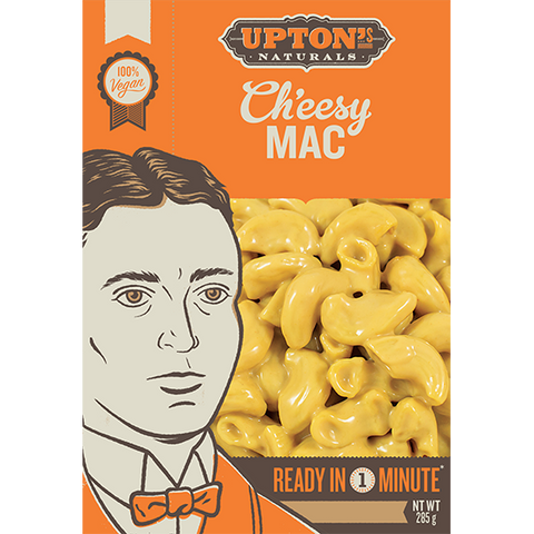 Upton's Naturals Real Meal Kit Ch'eesy Mac 285g - Vegan Pantry Brisbane