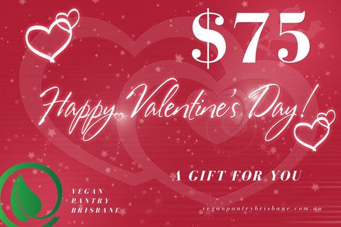 Valentine's Day Gift Card $75 - Vegan Pantry Brisbane