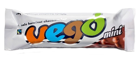 Vego Organic Whole Hazelnut Chocolate Bar Mini 65g - Vegan Pantry Brisbane