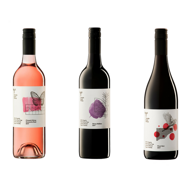 Temple Bruer Organic Wines Lady in Red (and pink) Pack