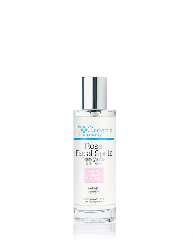 The Organic Pharmacy - Rose Facial Spritz Toner - Naturkosmetik