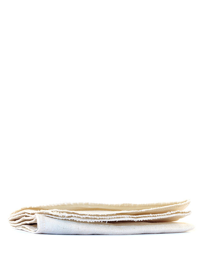 The Organic Pharmacy - Organic Muslin Cloths - Naturkosmetik