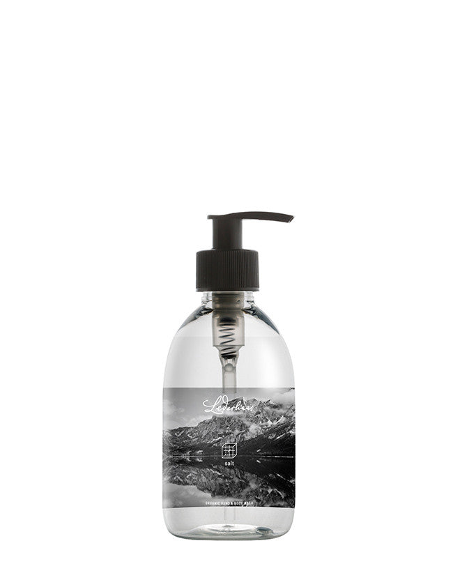 Lederhaas - Hand & Body Wash rock salt - Naturkosmetik