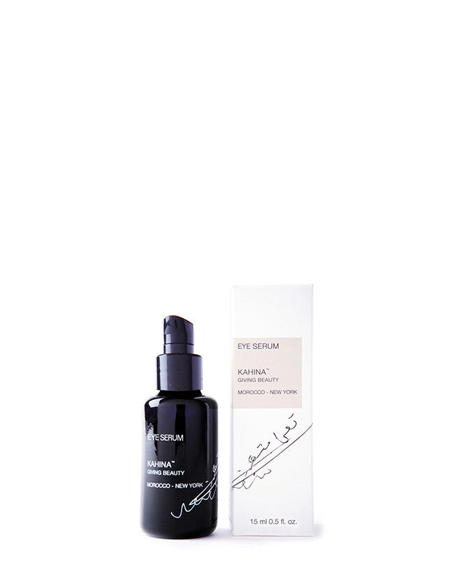 Kahina Giving Beauty - Eye Serum - Naturkosmetik