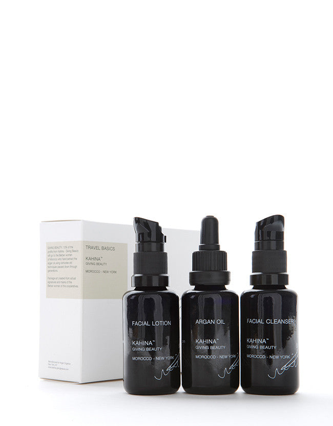 Kahina Giving Beauty - Travel Basics - Naturkosmetik