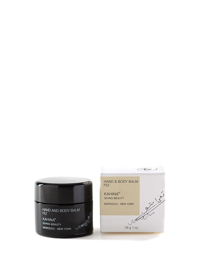 Kahina Giving Beauty - FEZ Hand and Body Balm - Naturkosmetik