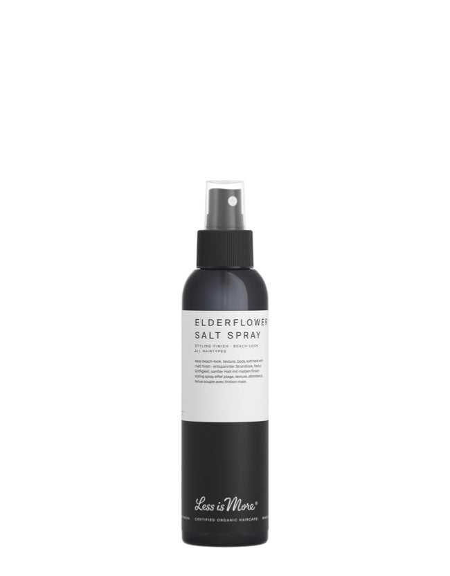 Less is More - Elderflower Salt Spray - Naturkosmetik