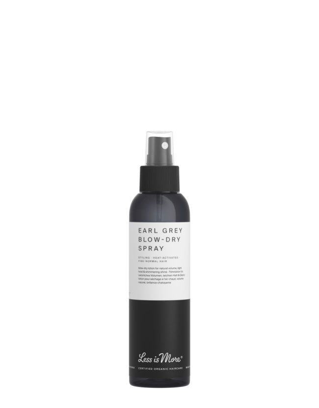 Less is More - Earl Grey Blow Dry Spray - Naturkosmetik