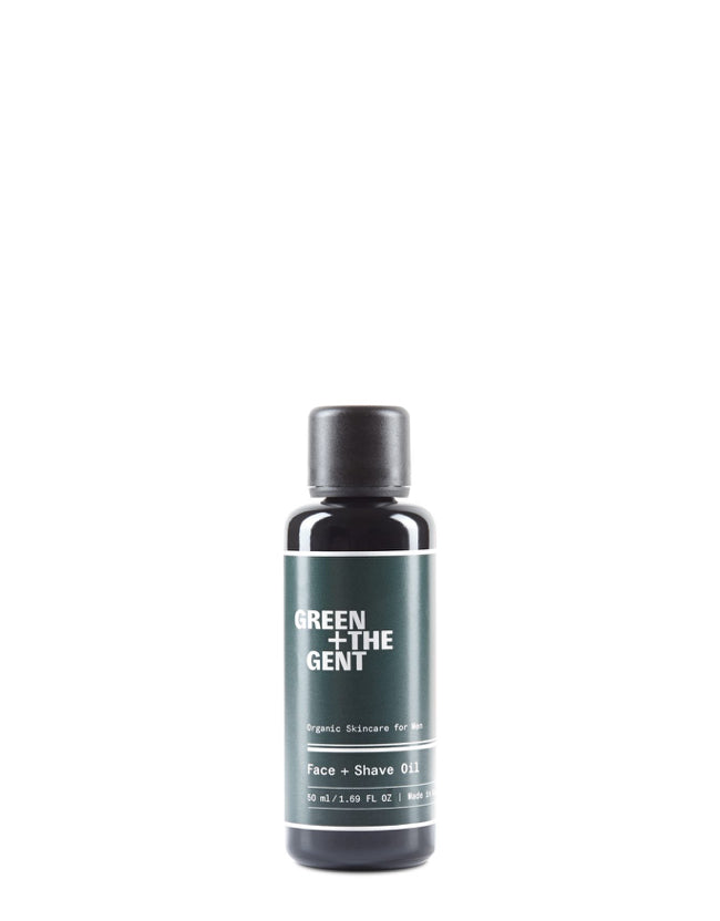 GREEN+ THE GENT - Face + Shave Oil Naturkosmetik