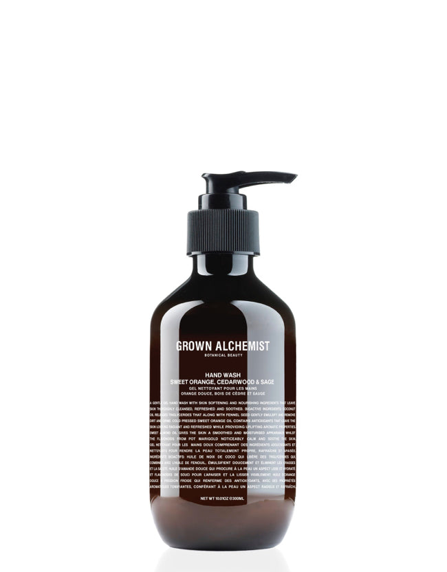 Grown Alchemist - Hand Wash Sweet Orange, Cedarwood & Sage Naturkosmetik