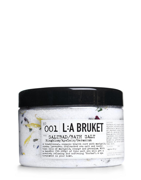 L:A BRUKET - Bath Salt Marigold/Orange/Geranium