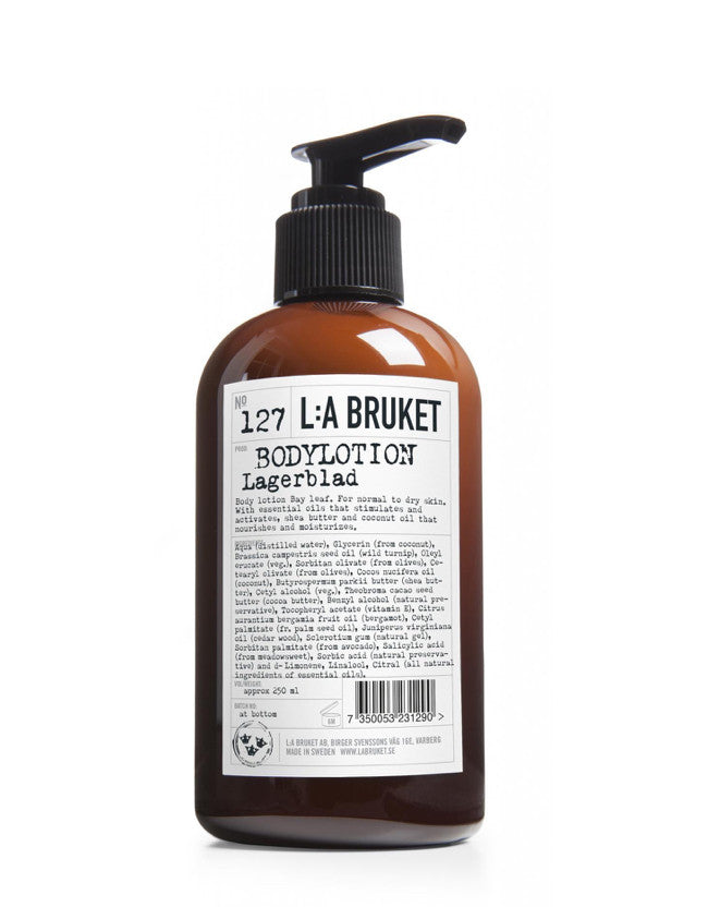 L:a Bruket - Body Lotion Laurel Leaf - Naturkosmetik
