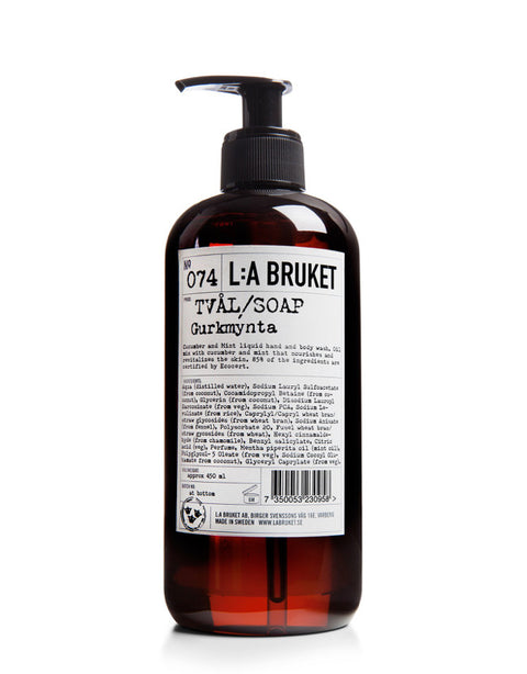 L:A BRUKET - Liquid Soap Cucumber/Mint