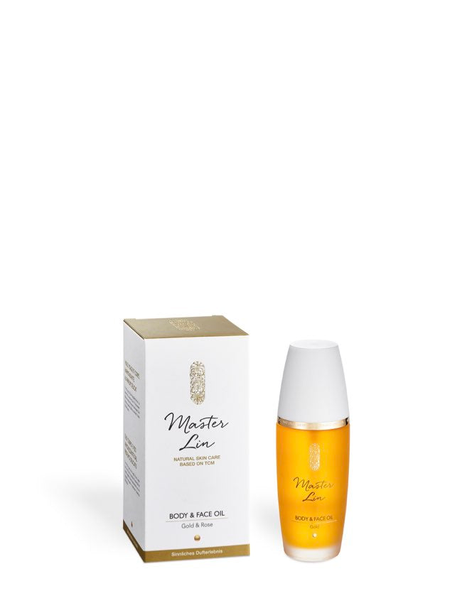 Master Lin - Body & Face Oil Gold & Rose - Naturkosmetik