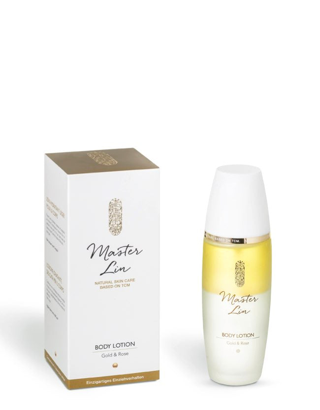 Master Lin - Body Lotion Gold & Rose - Naturkosmetik