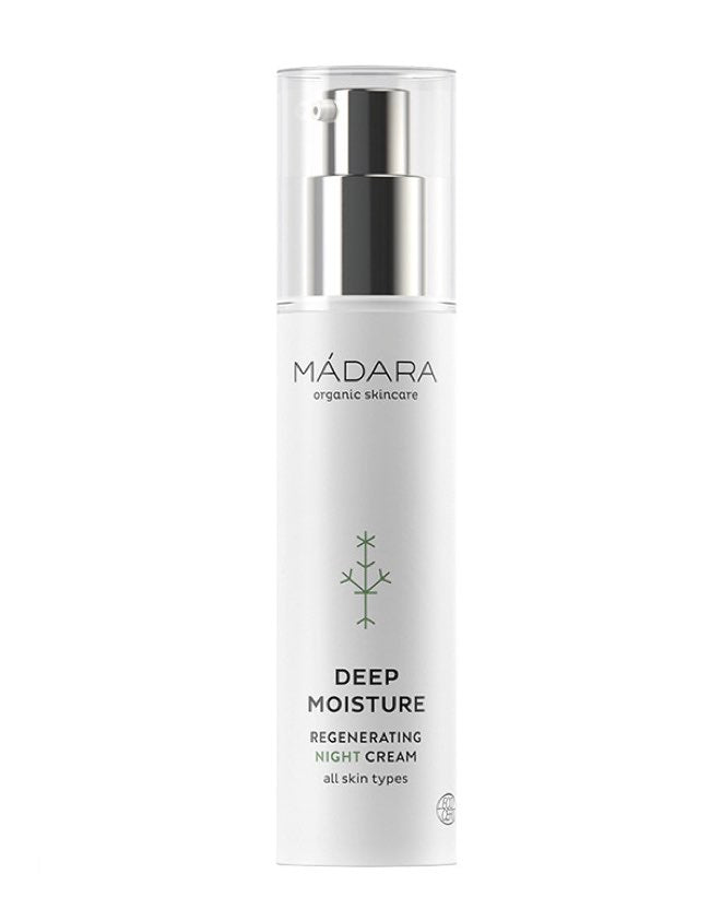 Mádara - Deep Moisture Regenerating Night Cream - Naturkosmetik